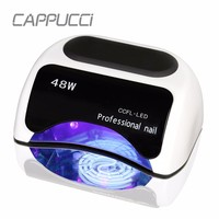 Professional 48W UV Lamp For Nails Curing LED UV Gel Nail Art Manicure Automatic Sensor Nail Dryer Nail Tools