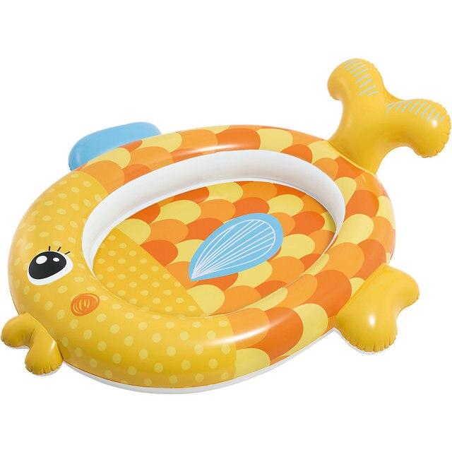 """Детский надувной бассейн INTEX """"Золотая рыбка подружка"""""""