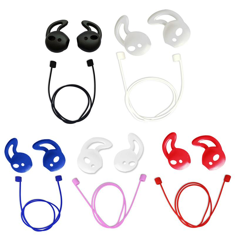 New Wireless Bluetooth Ear Covers Fashion Earphone Cases Protection Earbuds Anti-Lost Anti-Drop Earphone Lanyard Headphone Strap