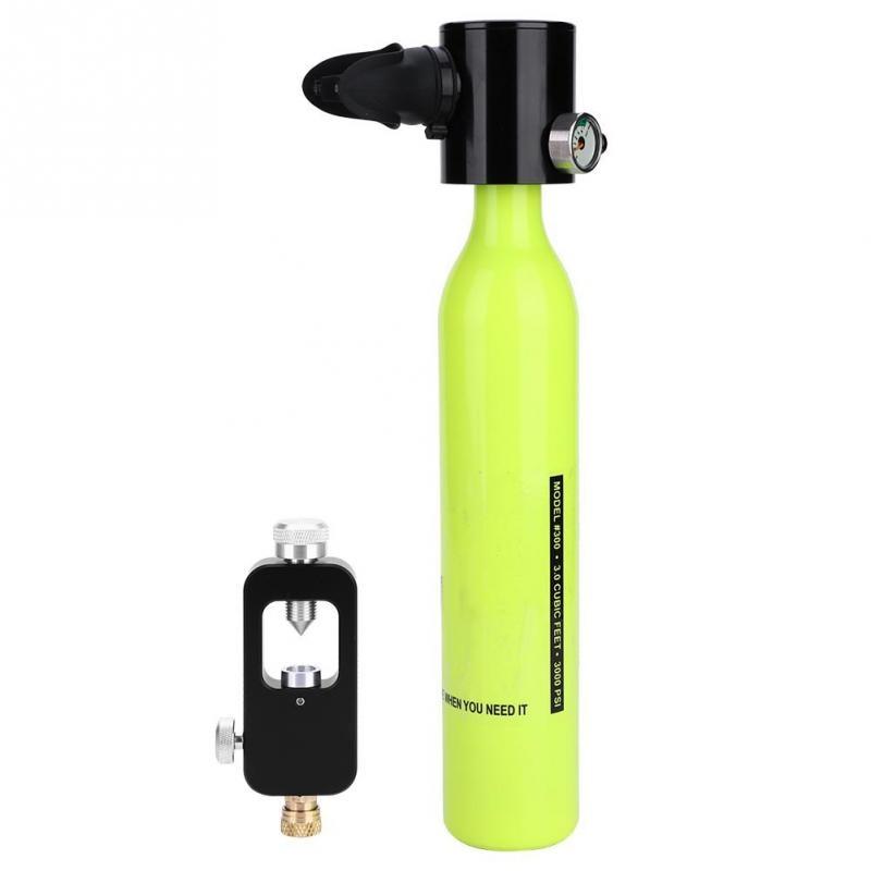Portable Scuba Diving Oxygen Cylinder Set Swimming Underwater Breathe Scuba Tank Refill Adapter Diving Equipment Баллон для дайвинга