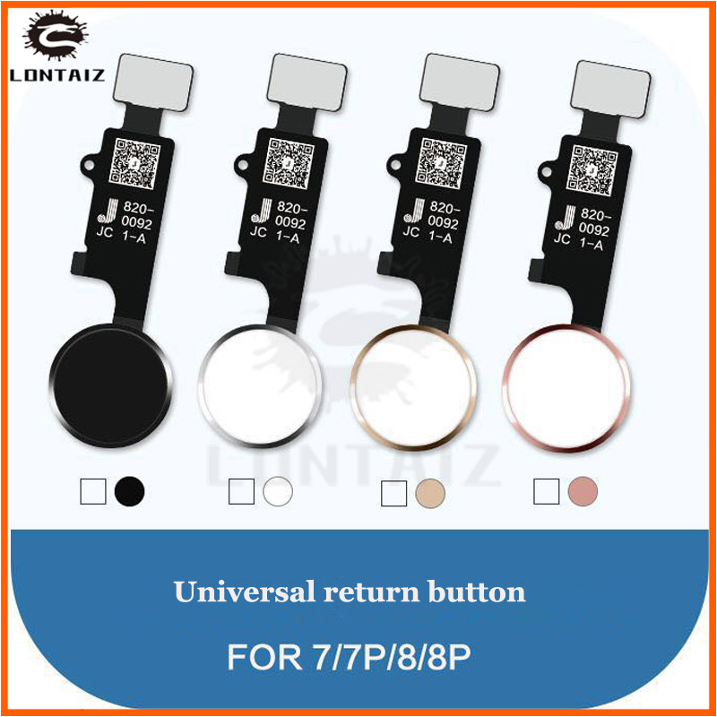Final Version 3rd Gen New JC Universal Home Button For Iphone 7/7 Plus/8/8 Plus Return Button Key Back Screen Shot Function