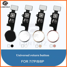 Final version 3rd Gen New JC Universal home button For iphone 7/7 plus/8/8 plus return button key back screen shot function недорого
