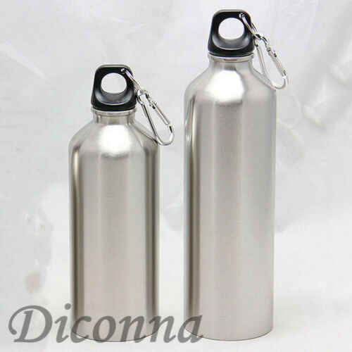 Stainless Steel Water Bottle Double Wall Vacuum Insulated Sports Gym Metal Flask Perfect Outdoor Sports Camping Hiking Cycling