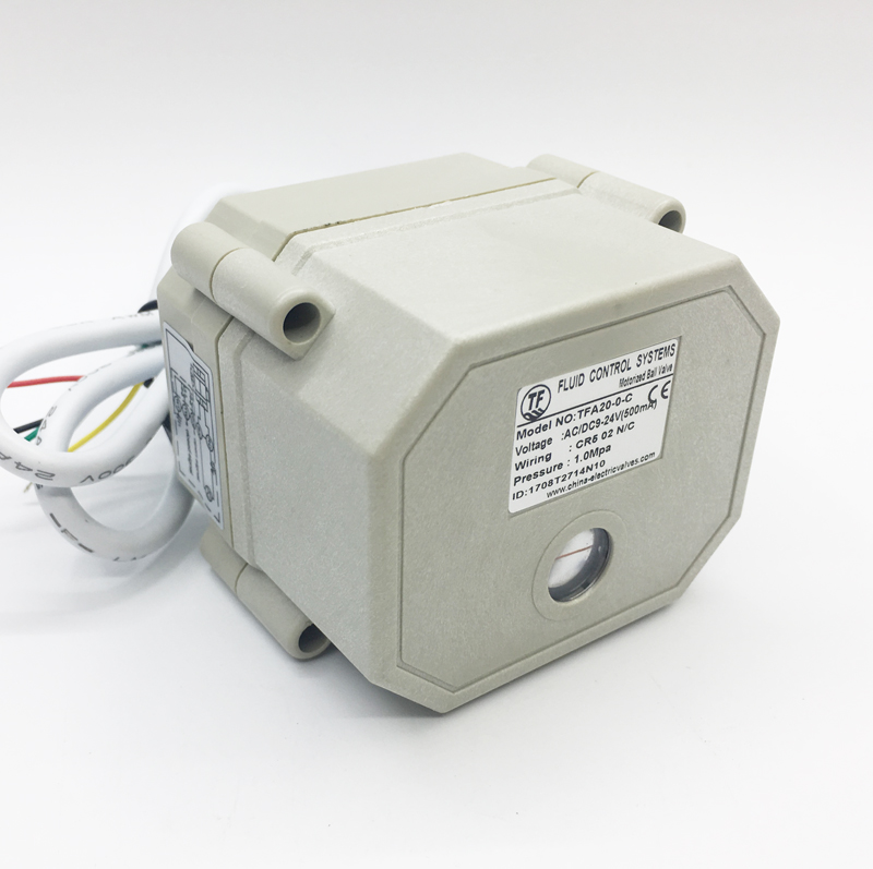 Proportion Valve Driver 0-5V 0-10V Or 4-20mA Modulated Valve Actuator DC9-24V Crane For Water Modulating Control