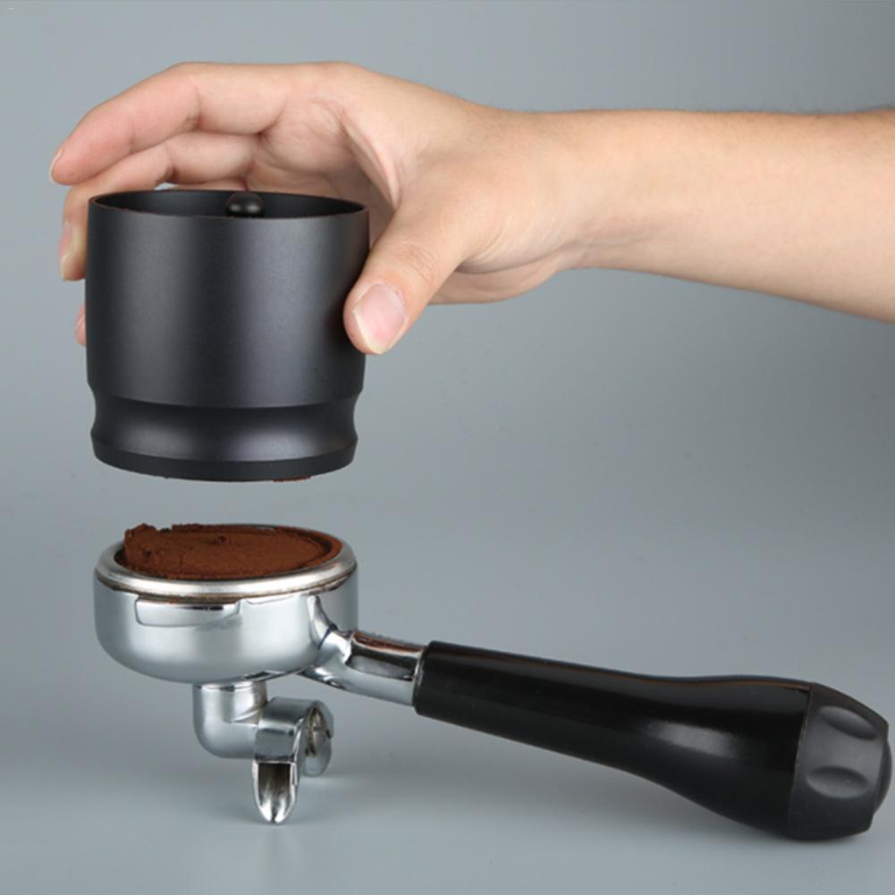 58mm Coffee Distributor Metal Alloy Base Espresso Macaron Coffee Tamper Coffee Leveler Tool Coffee Bean Press Tool
