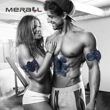 Smart EMS Muscle Stimulator Trainer Electric Wireless Waist And Abdominal ABS Fitness Body Slimming Massager