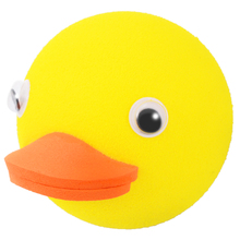 New Arrival 1 PC Cute Yellow Duck Car Antenna Pen Topper Aerial Ball Decoration Gift Toy 2019 Hot