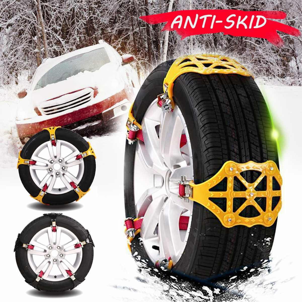 1 PC High Quality Wear resistant Car Snow Chains Balance