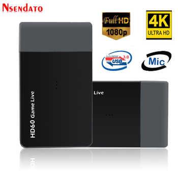 Ezcap261M USB 3.0 HD60 キャプチャ 4 k 1080 p ゲームライブストリーミングビデオコンバータサポート 4 k ビデオ xbox One PS4 カメラ - DISCOUNT ITEM  18% OFF All Category