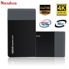 Ezcap261M USB 3,0 HD60 видео игры для захвата 4 K 1080 P игра прямые трансляции видео конвертер Поддержка видео с разрешением 4 K для xbox один PS4 Камера