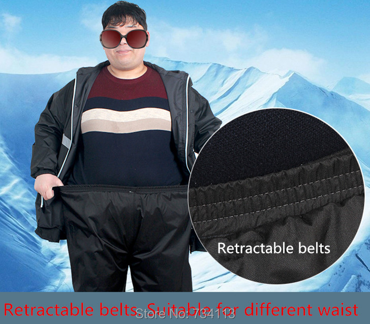 6XL 5XL böyük ölçülü palto Super yağlı oğlanlar üçün - Ev əşyaları - Fotoqrafiya 4