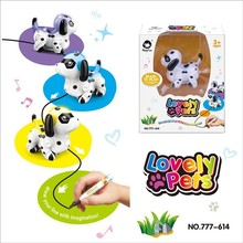 HappyCow 777-614 Color Sensitive Fog Marking With Pen Car Electric Dog Lighting Sound NewStrangeToys ZLRC