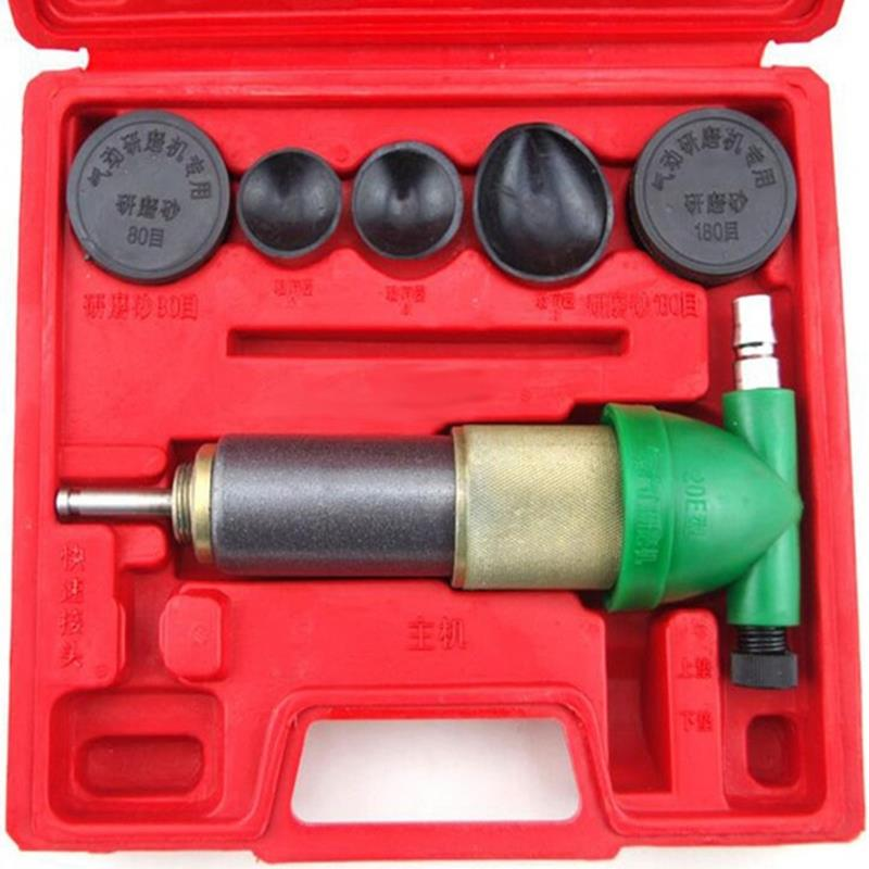 Air Operated Valve Lapper Automotive Engine Valve Repair Tool Pneumatic Valve Grinding Machine Valve Seat Lapping Kit Car Grin