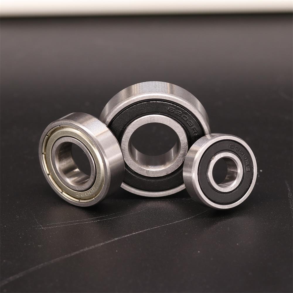 2PCS 6201 6201ZZ <font><b>6201RS</b></font> 6201-2RS Deep Groove Ball Bearing 12X32X10mm Ball Bearing image