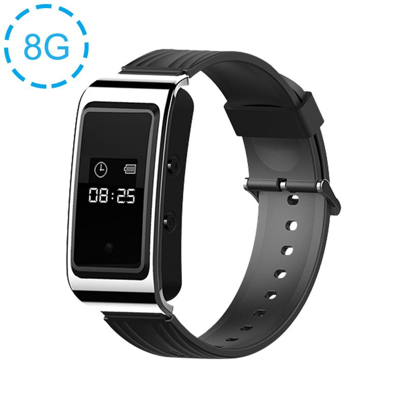 Image 2 - D6 Portable Bracelet Sports Watch Business Meeting Voice Audio Recorder Recording Devices Sports Anti shake And Anti sweat Watch-in Smart Watches from Consumer Electronics