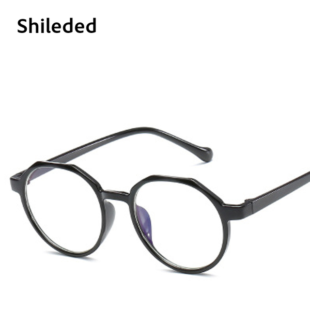 718a7856d25 Woman Glasses Optical Frames With Clear Lens Shileded Discount Round Specs  Frame Non Prescription Glasses Eyewears