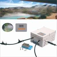 40 個 nozzleoutdoor ミスト冷却システム mistingwith 電磁弁とプログラマブルサイクルタイマー (水資源から水テープ)