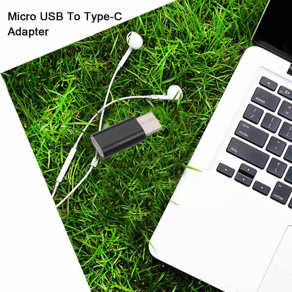 Micro USB к usb-адаптер type-C для смартфонов huawei Xiaomi Sumsung для ноутбуков MacBook