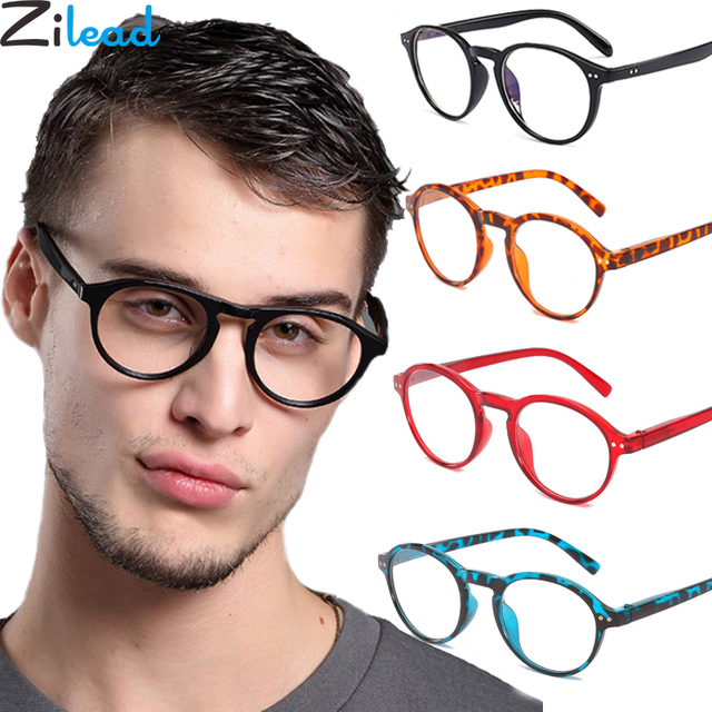 Zilead Classical Oval Frame Reading Glasses For Women&Men Clear Lens Presbyopic Glasses Eyewear With Diopter +1.0to+4.0Unisex