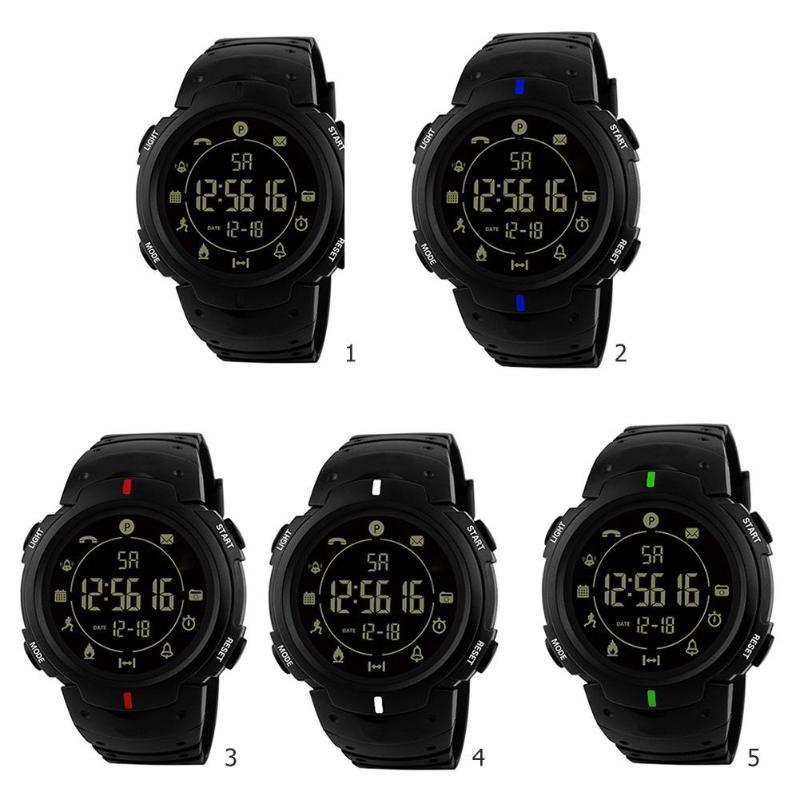 VAKIND Women Smartwatch Men Waterproof Bluetooth Sports Pedometer Smart Wristwatches Unisex Resin Strap Smart Electronic Watches
