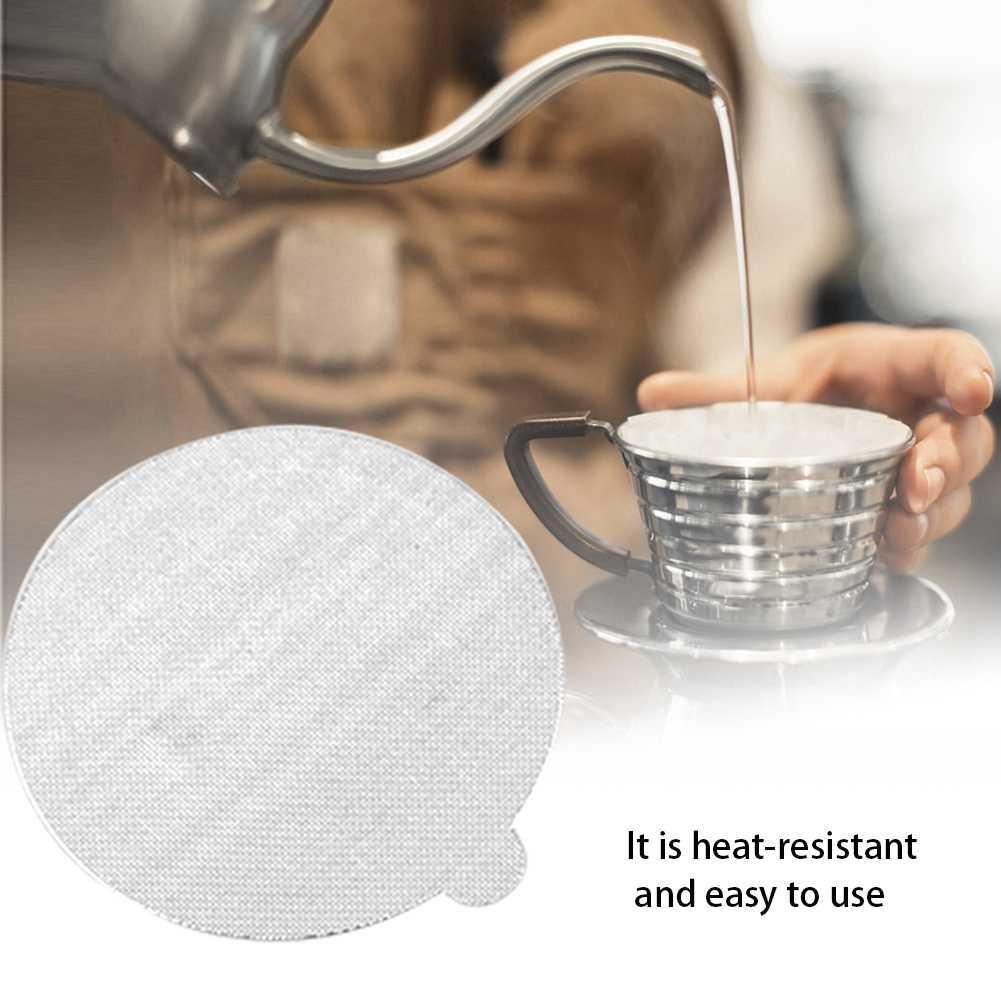 100 unids/set tapa de sello sanitario autoadhesiva resistente al calor desechable para maquillaje de medicina alimentaria de almacenamiento de