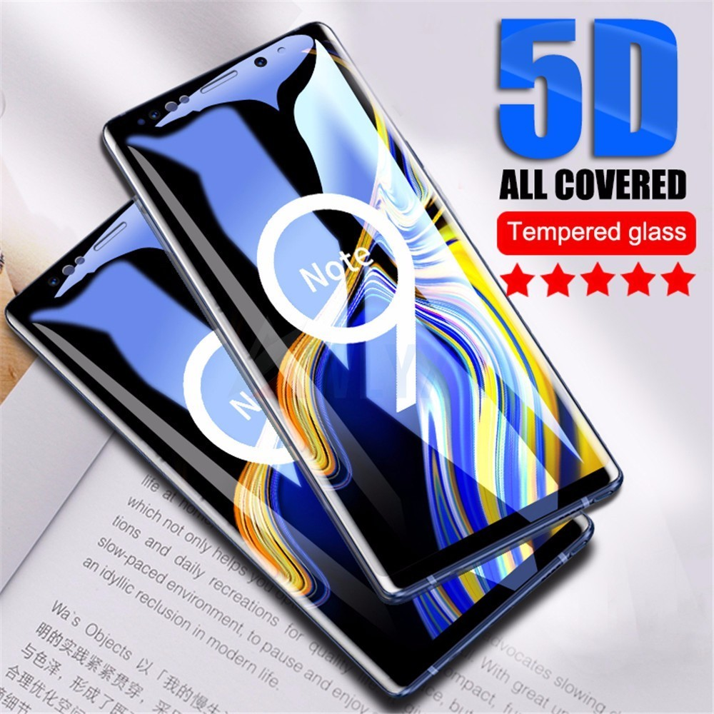 5D Full Cover Tempered Glass For <font><b>Samsung</b></font> Galaxy A3 A5 A7 2017 <font><b>Screen</b></font> Protector For <font><b>Samsung</b></font> J4 J6 A6 8 <font><b>Plus</b></font> 2018 <font><b>Protective</b></font> Glass image