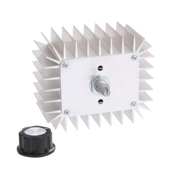 AC 220V 5,000W SCR Voltage Regulator Speed Temperature Controller Dimmer