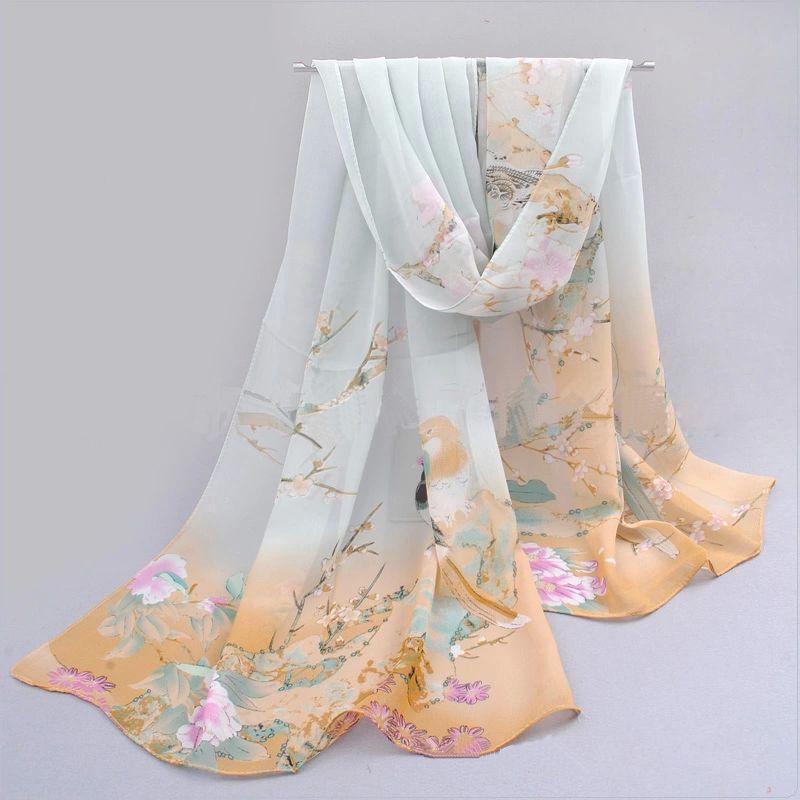 Women Fashion Chiffon   Scarf   Neck Shawl   Scarf     Scarves     Wrap   Stole Warm Gift NEW
