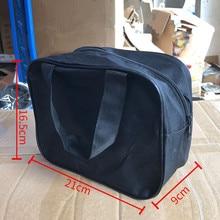 купить Car Air Pump Kit Tool Bag Handbag Single Cylinder Air Pump Container Auto Air Inflatable Pump Storage High Quality дешево