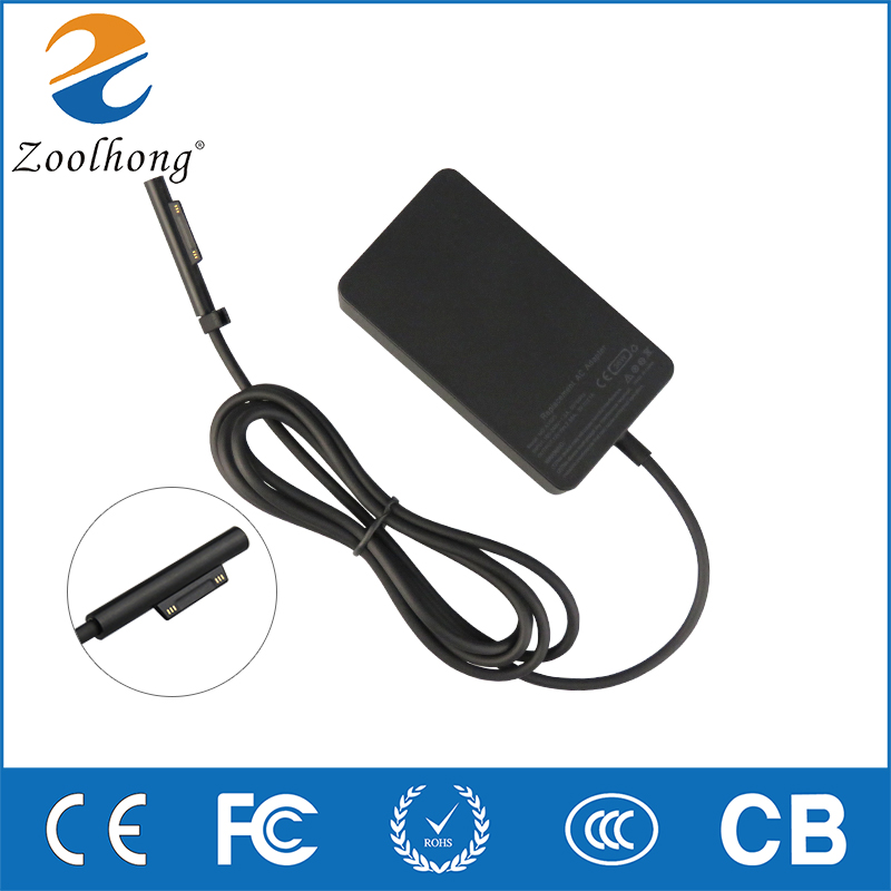 For Microsoft Surface Pro 3/Pro4  Power supply notebook charger ac laptop adaptor 12v 2.58a 5V1A  AC/DC Adapter For Microsoft Surface Pro 3/Pro4  Power supply notebook charger ac laptop adaptor 12v 2.58a 5V1A  AC/DC Adapter
