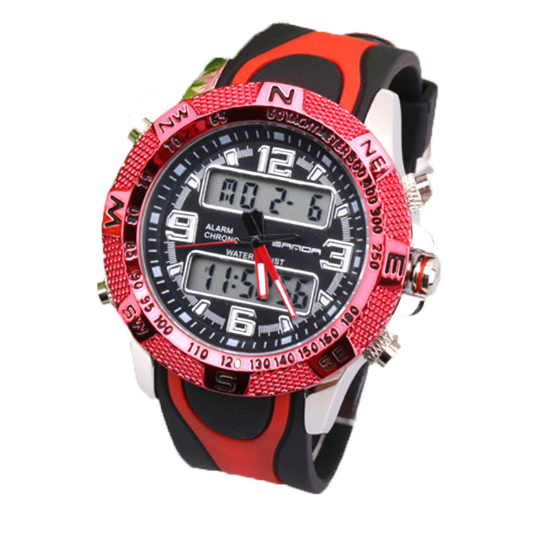 ?Sports watches Shockproof multifunction electronic luminous quartz watch outdoor men sports mountaineering watches