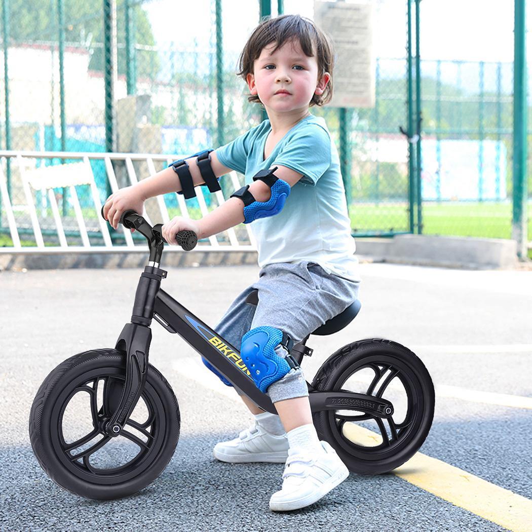 11.8-15.7 pouces enfants Balance vélo enfant pousser pas de pédale entraînement vélo siège réglable enfants apprendre à monter équilibre sportif - 2