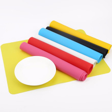 Table-Mat Thick Silicone Waterproof Kitchen-Accessories Non-Slip Heat-Resistant Rectangle