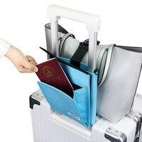 Kreative Gepäck Feste Tasche Faltbare Gepäck Riemen Koffer Gürtel Tragbare Reise Zubehör Frauen Reise Tragen auf Tasche Fix Gürtel