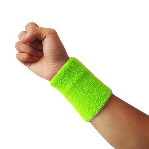 New 1x Sports Wrist Sweatband Tennis Squash Badminton Gym Basketball Wristband Gift
