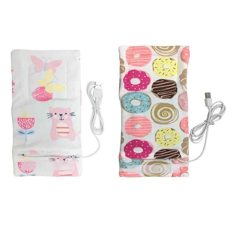 USB Электрический нагреватель для бутылок Портативный молоко Путешествия подогреватель чашки нагреватель для сумка для детской бутылочки чехол для хранения изоляции термостат сумки