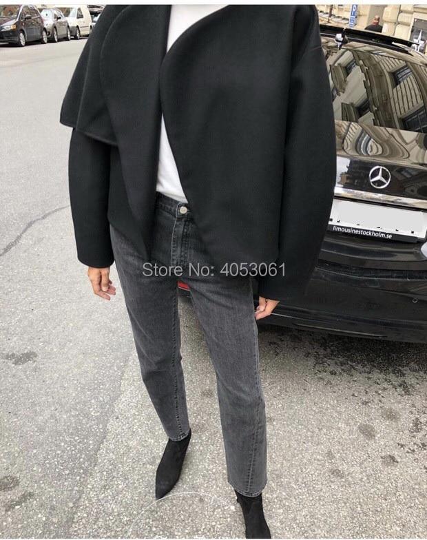 Black light Denim Mujer Claro Twist Pic Grey Color dark Oscuro De Mujeres Algodón Pic vintage Blue Nueve Sólido Alta Pantalones gris azul Oscuro 2018 Pic Jeans Estilo Gama As Pic Azul Rectos aYp16