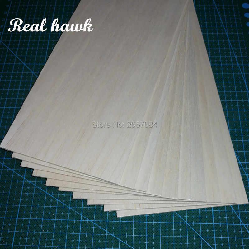 1 قطعة 1000x100x0.75 مللي متر AAA + نموذج ملاءات طوافة خشبية ل DIY RC نموذج طائرة خشبية قارب المواد