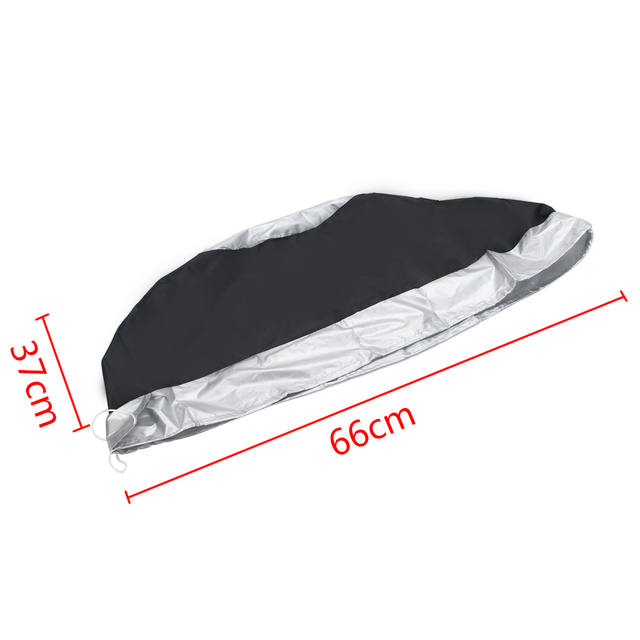Mayitr 1Pcs Universal Car SUV 13-19inch Tote Spare Tire Storage Cover Wheel Bag Durable Tire Wheel Protection Covers 1