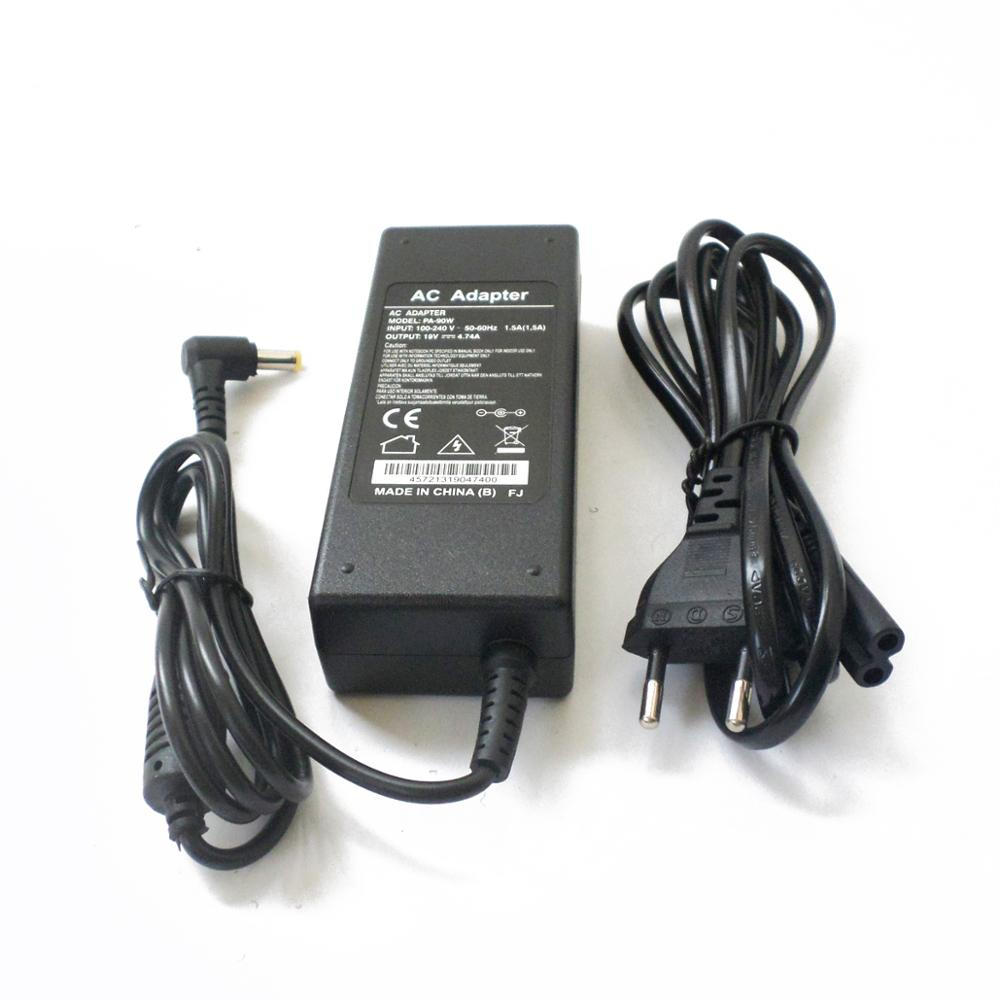 Power Supply Cord for Acer Aspire 5580 5920 5930 6530 5220 <font><b>4820TG</b></font> 7735ZG 7738 For Aspire X AXC-704G 19V 4.74A AC Adapter Charger image