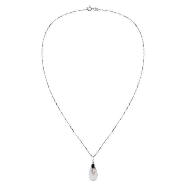 Women's Crystal Embellished Pendants Necklace