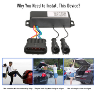 One foot Activated Induction Module for Smart Auto Electric Tail Gate Lift Car Accessories