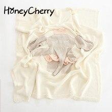 Cute Cartoon Big Elephant Soft Cotton Quilt