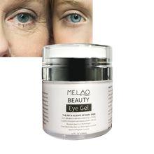 MELAO Eye Gel Remove Dark Circles Hydrating Anti Aging Firming Anti Puffiness Anti Wrinkle Eye Care Cream Eye Serum 50g