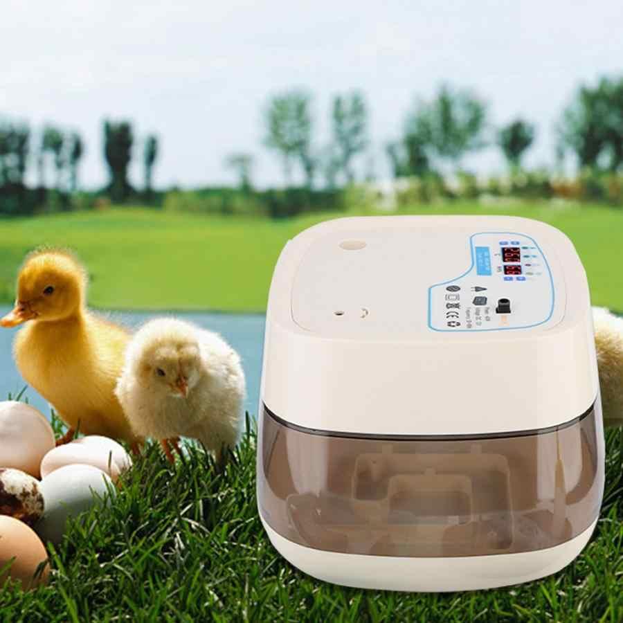 Автоматический инкубатор цифровой ясно инкубатор светодиодный Электрический мини бытовой Птицы Инкубатория питомнике легко