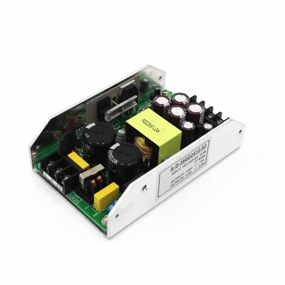 Цифровой Мощность источник питания усилителя Выход DC24v 13A & 12 V 2A 350 W Переключатель высокой мощности адаптер