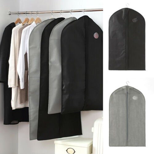 Breathable Hanging Suit Dress Coat Clothes Garment Covers Dust Protector Storage Bags Clothes Suit Coat Dress Jacket Protector