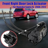 front right Side Power Door Lock Actuator Door Lock Actyator For Hyundai Santa Fe 2006 2007 2008 2009 2010 2011 2012