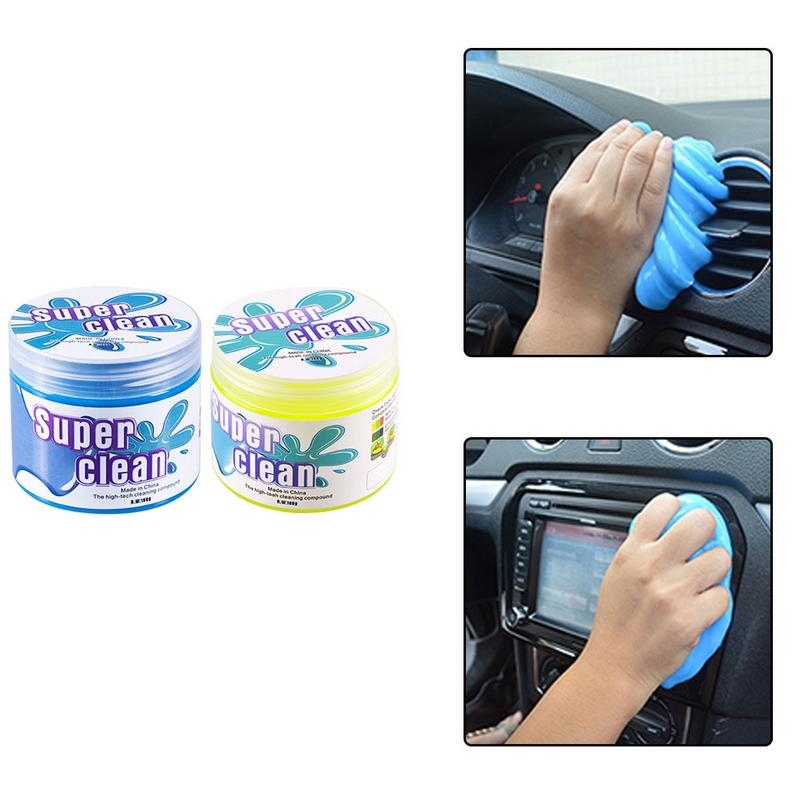 Car Vents Cameras Universal Cleaning Gel for Car Detailing Tools Automotive Dust Cleaning Mud Keyboard Cleaner for Auto PC Tablet Laptop Keyboards Blue, 160g Printers Calculators and Home Use