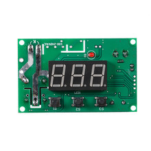 DC Micro Control Panel Ajustable Digital Thermostat for Incubator Controller Electronic Heat Cool Temperature Regulator Meter(China)
